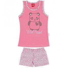 Dívčí letní pyžamo Kyly WILD HEART růžové Velikost: 128
