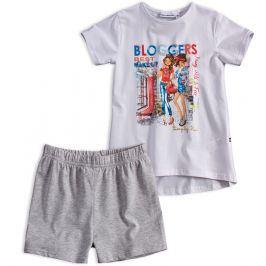 Dívčí tričko a šortky Mix´nMATCH BLOGGERS bílá Velikost: 98
