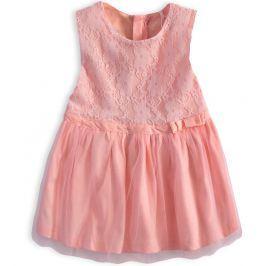 Dívčí šaty KNOT SO BAD CELEBRATE růžové Velikost: 74