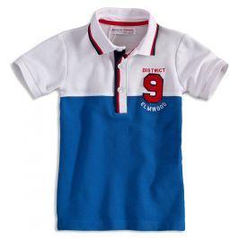 Chlapecké polo tričko  MINOTI ELM modré Velikost: 152-158