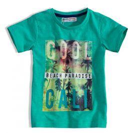 Dětské tričko s potiskem MINOTI HEAT zelené Velikost: 98-104