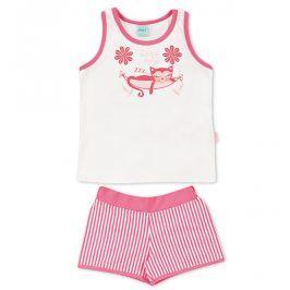 Dívčí letní pyžamo Kyly KOČKA růžové Velikost: 116