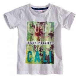 Dětské tričko s potiskem MINOTI HEAT bílé Velikost: 98-104