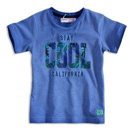 Chlapecké tričko krátký rukáv MINOTI STAY COOL modré Velikost: 92