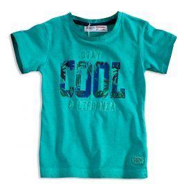 Chlapecké tričko krátký rukáv MINOTI STAY COOL zelené Velikost: 92