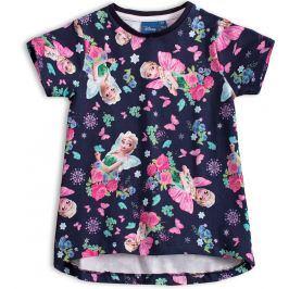 Dívčí tričko DISNEY FROZEN ELSA modré Velikost: 98