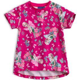 Dívčí tričko DISNEY FROZEN ELSA růžové Velikost: 104