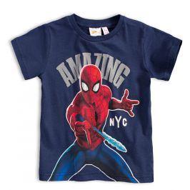 Chlapecké tričko MARVEL SPIDER MAN AMAZING modré Velikost: 98