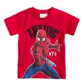 Chlapecké tričko MARVEL SPIDER MAN červené Velikost: 98