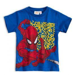 Chlapecké tričko MARVEL SPIDER MAN modré Velikost: 98