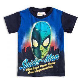 Chlapecké tričko MARVEL SPIDER MAN tmavě modré Velikost: 104