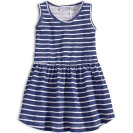 Dívčí letní šaty KNOT SO BAD PROUŽKY modré Velikost: 92