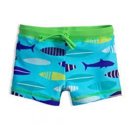 Chlapecké plavky ŽRALOCI světle modré Velikost: 92