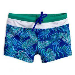 Chlapecké plavky KNOT SO BAD PALMS modré Velikost: 128