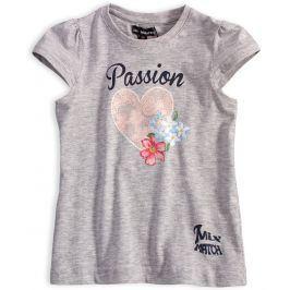 Dívčí tričko Mix´nMATCH PASSION šedé Velikost: 98