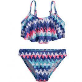 Dívčí plavky DIRKJE SUNSET modré Velikost: 116