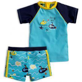 Chlapecké plavky KNOT SO BAD PONORKY světle modré Velikost: 92