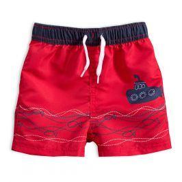 KNOT SO BAD Chlapecké plavky PONORKA červené Velikost: 92