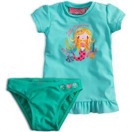 Dívčí plavky KNOT SO BAD MOŘSKÁ PANNA zelené Velikost: 92