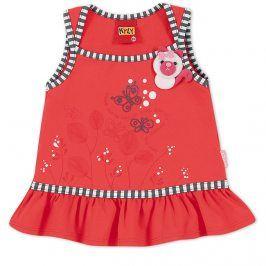 Dívčí tričko KYLY BUTTERFLY červené Velikost: 92