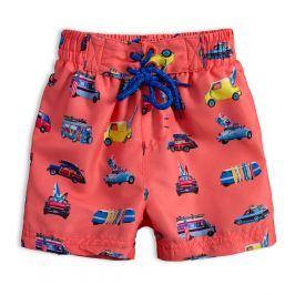 Chlapecké koupací šortky LEMON BERET AUTA oranžové Velikost: 98