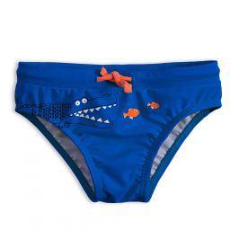 Chlapecké plavky KNOT SO BAD KROKODÝL modré Velikost: 92