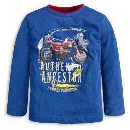 Chlapecké tričko KNOT SO BAD MOTORKA modré Velikost: 92