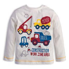 Chlapecké tričko KNOT SO BAD WORK bílé Velikost: 62