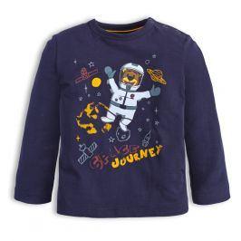 Dětské tričko KNOT SO BAD KOSMONAUT modré Velikost: 62