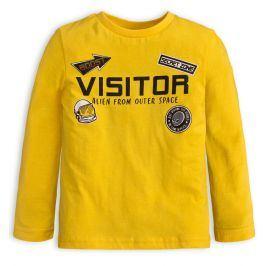 Chlapecké tričko KNOT SO BAD VISITOR žluté Velikost: 98