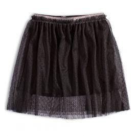 Dívčí tylová sukně KNOT SO BAD BLACK STAR černá Velikost: 128