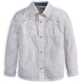 Chlapecká košile KNOT SO BAD SUPER bílá Velikost: 92