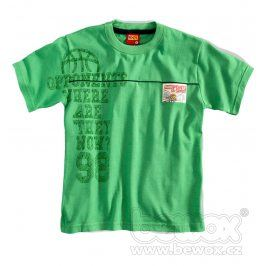 Chlapceké tričko krátký rukáv KYLY zelené Velikost: 98
