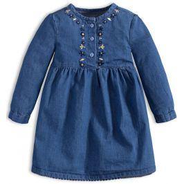 Kojenecké šaty KNOT SO BAD DENIM modré Velikost: 62