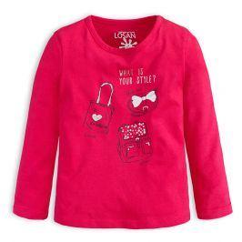 Dívčí tričko LOSAN YOUR STYLE růžové Velikost: 92