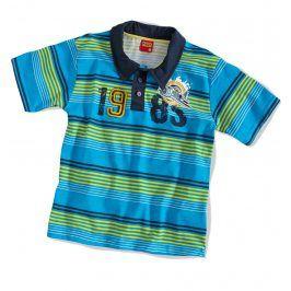 Dětské tričko polo KYLY modré Velikost: 104