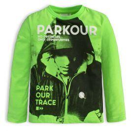 Chlapecké tričko CANGURO PARKOUR TRACE zelené Velikost: 98