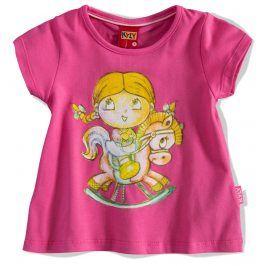 KYLY Dívčí tričko PANENKA růžové Velikost: 92