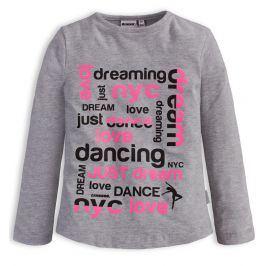 Dívčí tričko CANGURO DREAM šedé Velikost: 104