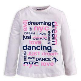 Dívčí tričko CANGURO DREAM bílé Velikost: 98