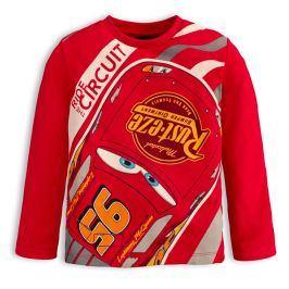 Chlapecké tričko Disney CARS RIDE CIRCUIT červené Velikost: 122