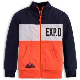 Chlapecká mikina Mix´nMATCH EXP oranžová Velikost: 98