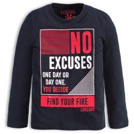 Chlapecké tričko LOSAN NO EXECUSES modré Velikost: 152