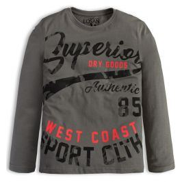 Chlapecké triko LOSAN SUPERIOR šedé Velikost: 140