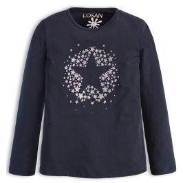Dívčí tričko LOSAN SILVER STAR modré Velikost: 128