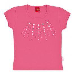 Tričko dívčí KYLY HVĚZDIČKY růžové Velikost: 152