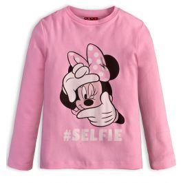 Dívčí triko DISNEY MINNIE SELFIE růžové Velikost: 134