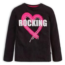 Dívčí tričko Mix´nMATCH ROCKING černé Velikost: 98