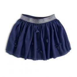 Dívčí tutu sukně KNOT SO BAD MOTÝLI modrá Velikost: 92
