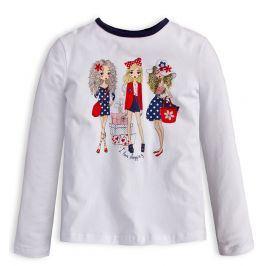 Dívčí tričko Mix´nMATCH LOVE SHOPPING bílé Velikost: 98